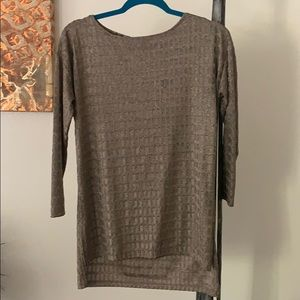 Shimmery Tapered Zara Top